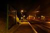 """""""Watercress Belle"""" dining train departs Medstead & Four Marks. 3rd November 2012."""