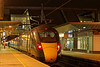802015 waiting the RA at Reading with the 18:08 Weston-super-Mare - Paddington. <br /> 20th March 2019.