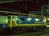 86401 at Crewe, with the 18:00 Birmingham - Glasgow / Edinburgh, on 30th December 1986.