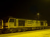 60064 on the Loco Holding Sidings at Didcot on 27th January 2000.