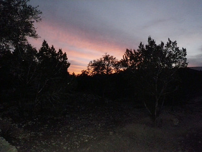 sunset at the dog ranch