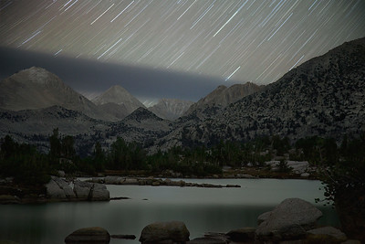 Marie Lake Star Trails