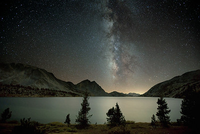 Milky Way Over Duck Lake