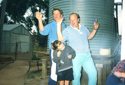 Mick, Karleigh and Bob - darts Borung.