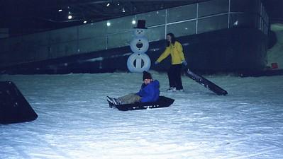 Keiran at Snow Dome Adelaide 2002.