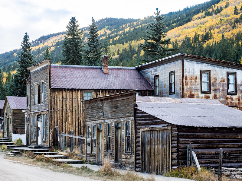 Ghost Town St. Elmo Colorado