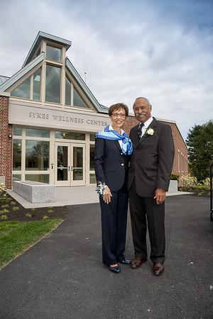Sykes Wellness Center Dedication