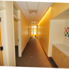 Counseling office hallway – looking south – offices are along the east side of building.
