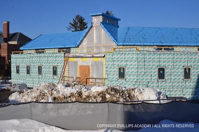 Sykes Wellness Center Construction