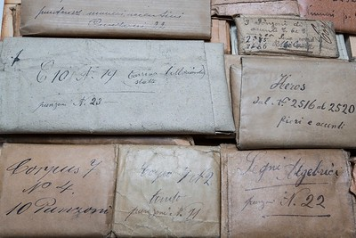 The Reserve of Punches houses dozens of different series of punches, classified and collected in their original envelopes.