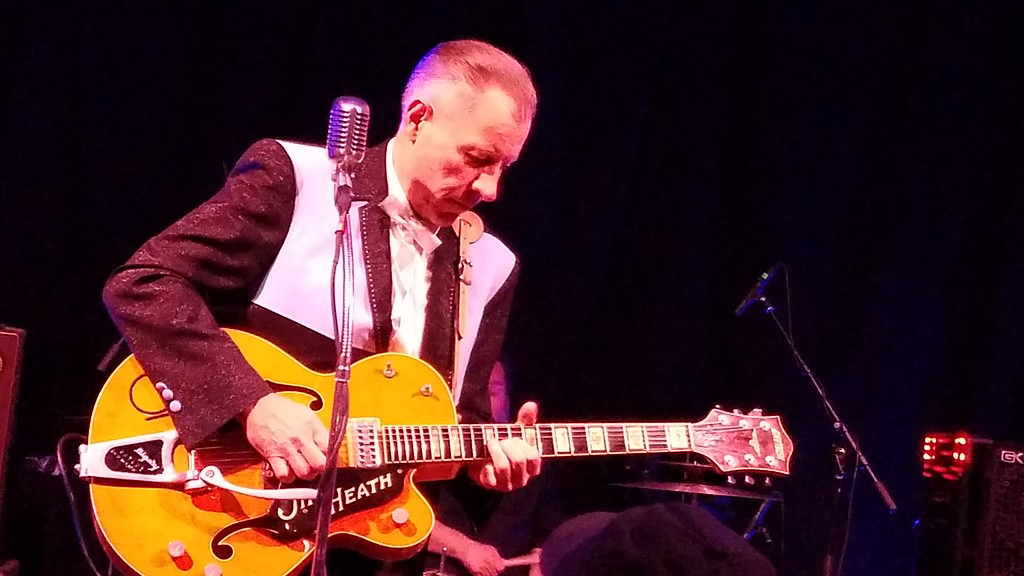 . Jim Heath is a rockabilly rockstar. (Daniel Sewell/Trail-Gazette)