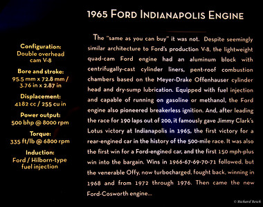 1965 Ford Indianapolis Engine