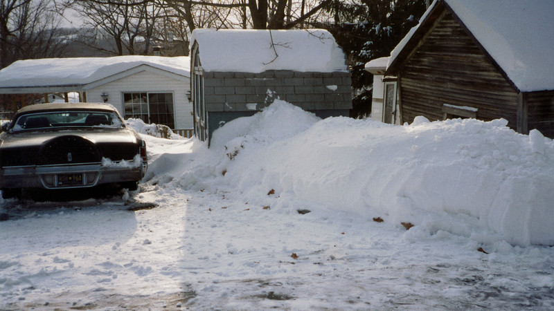 """The snowstorm that hit the entire east coast of the US on March 13, 1993 dropped about 2 feet of snow in the Altoona, Pennsylvania area.  This storm has become known as the """"Blizzard of '93"""" and """"The Storm of the Century.""""  Some places in the northeast part of PA near the Poconos were hammered with almost 4 feet !"""
