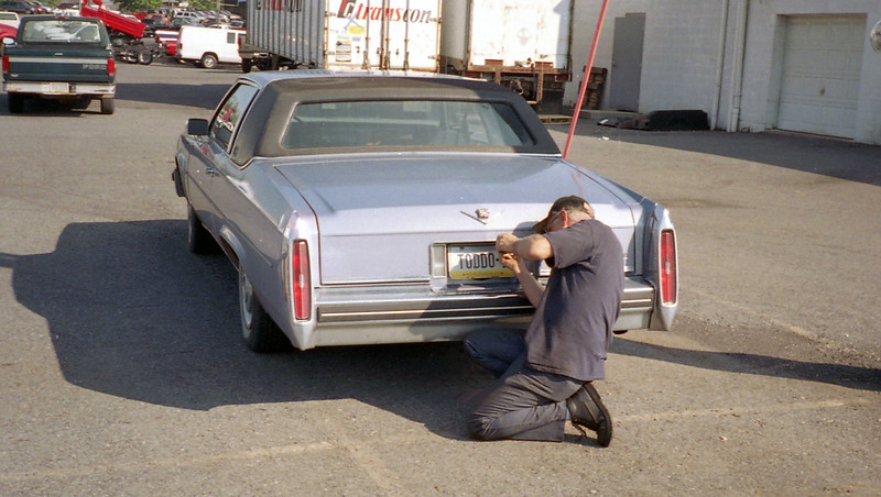 My coworker Gus McFarland decided he would love to have the Caddy as a project.  I sold it to him on my last day at work.