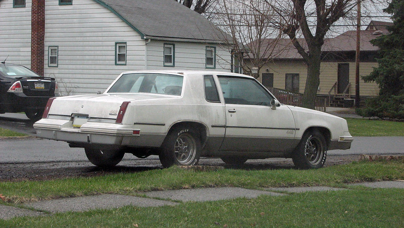 I spotted my old car on April 4, 2011 while home for a visit.