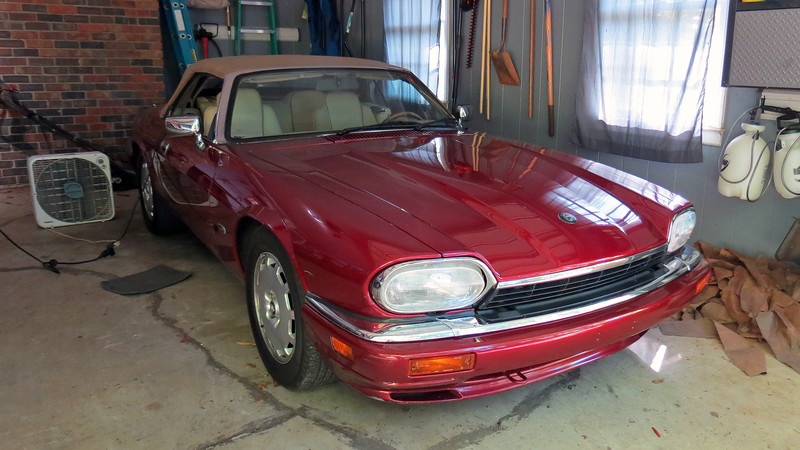 """I've owned my wonderful 1996 Jaguar XJS for about 8 years as of this writing.  During that time, I've added almost 20k miles to the odometer, most of which have been trouble free.  So far, any work I've had to do to the car has been relatively minor and (thankfully), not terribly expensive.  I replaced the front brake pads and rotors back in 2014.  The car developed an oil leak from an oil pressure sending unit during my 2015 Jekyll Island, Georgia trip, which was an easy fix.  The most challenging repair to date occurred in 2017 when I had to replace the badly leaking convertible top hydraulic cylinders.  And I replaced a leaking heater control valve in 2018.<br /> <br /> Today's project involved replacing the vacuum motor on the right side blower motor assembly.  Normally, this is where I would say that everything was working fine, and then all of a sudden, something broke.  But I believe this issue has been around since before I bought the car in 2011, and has gradually become more significant over the last 8 years.      <br /> <br /> Older automobile HVAC systems utilize engine vacuum to control the various system modes.  The movable doors within the system open and close to direct air to wherever it is requested, (vent, floor, windshield, etc.).  The one commonality among every manufacturer's system is that if engine vacuum is lost, all airflow is required to be directed to the windshield.  Keeping the windshield fog-free is considered a safety issue.  <br /> <br /> I first test drove this car on August 20, 2011.  It was quite challenging for me to notice anything due to the fact that I was smiling so much.  But I did encounter one instance where the HVAC defaulted to the windshield while driving.  This usually indicates the presence of a vacuum leak.  But since it only happened once, I filed it under, """"Don't worry about it."""" and kept smiling.<br /> <br /> Over the last 8 years, what began as a minor vacuum leak has developed into something more significant.  T"""