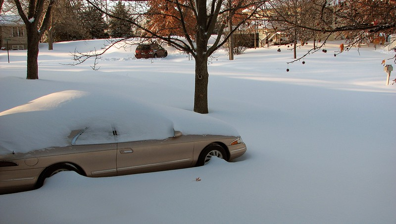 December 1, 2006:  Mother Nature decided to dump 15 inches on snow on Columbia, Missouri.