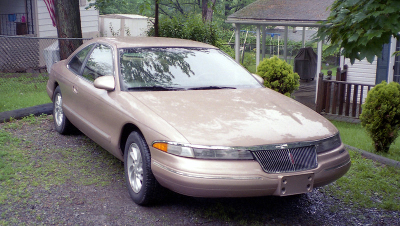 The owner of this Mark VIII purchased it from Bedford Ford's satellite lot in Duncansville, PA a few years earlier.  He always brought it back to us for regular maintenance.  I discovered during one of my conversations with him that he was looking to sell the car.