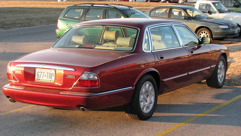 Todd's new 1998 Jaguar XJ8-L, 47k original miles.