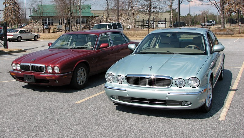 Today was the day to move on to bigger and better things.  I traded the 1998 Jaguar XJ8-L for a 52k original mile 2004 Jaguar XJ8.