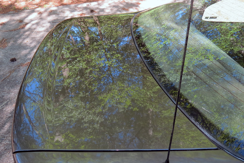 The final step in the process was to apply a good coat of wax, in this case Mothers Brazilian Carnauba.