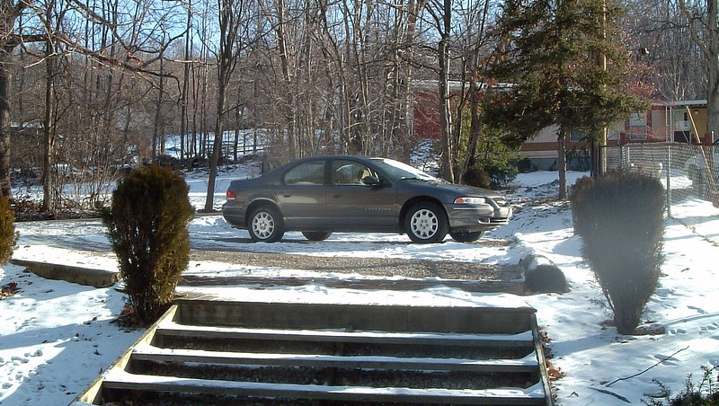 January 24, 2003:  My wife's new 2000 Chrysler Cirrus.