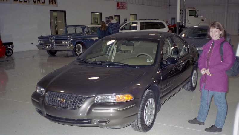The new 2000 Chrysler Cirrus.