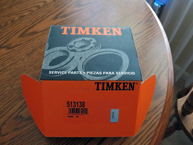 I ordered a Timken replacement.