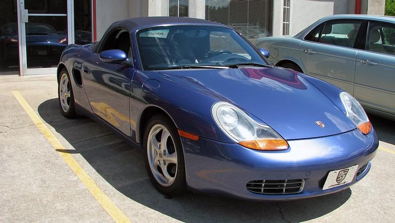 The exterior color is L3AX, Zenith Blue Metallic.