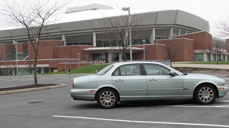 The Bryce Jordan Center on Penn State's campus.