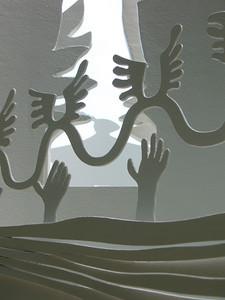 """Slocum's Trust"" (steel & fiberglass, 2009) by Eric Lintala"