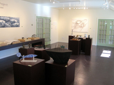"Gustin Gallery ""Thoughts and Processes"" exhibit"