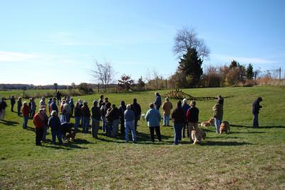 Artists Walk, November 2009