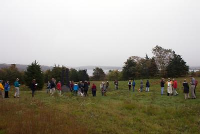 On Artist Walk - (photo by Meg Giddings) - October 2012