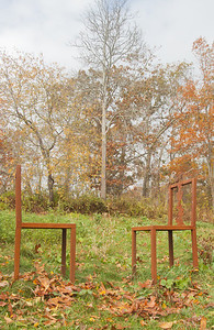 """A Study in Proxemics"" by Mimi Frank  (photo by Henry Amistadi) - October 2012"