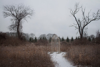 """Fragment House"" by Danielle Krcmar (photo by Meg Giddings) - December 2012"