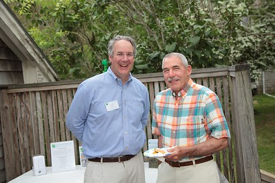 DNRT Development and Outreach Coordinator Jim Bride and President Clif Rice