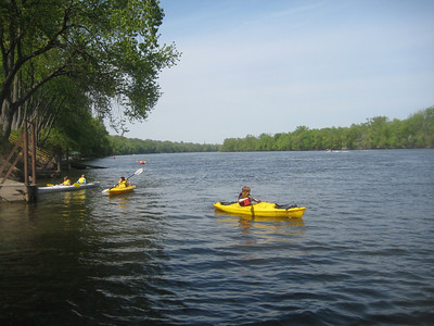 Farm and River Day, May 1, 2010, included free boating on the river with instructors to help youth.