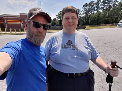MathProfHiker aka Parking Fulltime met us at the Loves truckstop in Fair Play, South Carolina on June 18, 2021