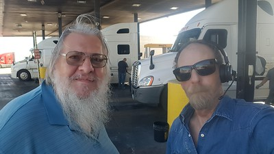 DevilsTravels met up with BigRigSteve in Quartzsite, Arizona on Feb 20, 2020