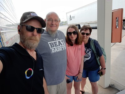 Chris and family chased us down in Paducah, Kentucky on June 20, 2021