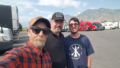 Stephen and Donald met up in Springville, Utah on July 21, 2020.