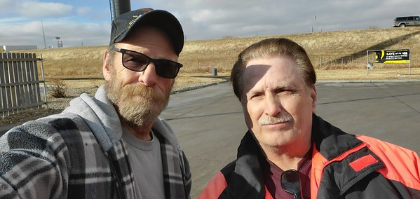January 24, 2021 Chris from North Platte, Nebraska met BigRigSteve at the Love's truckstop