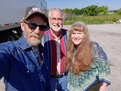 Richard and Patricia met us in Cloverdale, Indiana on June  5, 2021