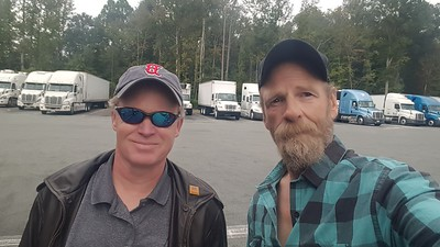 J Derick from High Point, NC met BigRigSteve as we got fuel in Mebane, North Carolina 9/23/2020