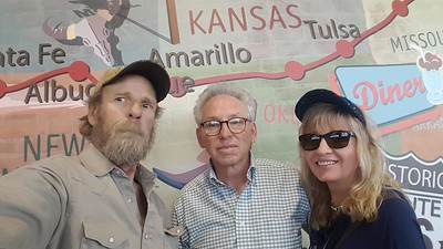 """Finally! After several years of watching BigRigTravels, """"M"""" & """"C"""" met up with the fuzzy faced driver in Mesquite, Nevada on October 17, 2018"""