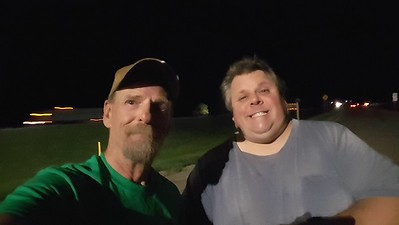 Brand X and BigRigSteve met at the rest area in Russell, Kansas on August 21, 2020