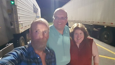 November 14, 2020 is when Chris and Kristi  came out to meet BigRigSteve in Blacksburg, South Carolina.