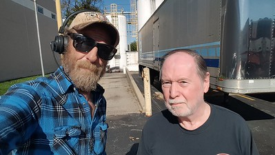 Downingtown,  Pennsylvania is where Philip met BigRigSteve while we were being loaded early before our appointment. October 28, 2019