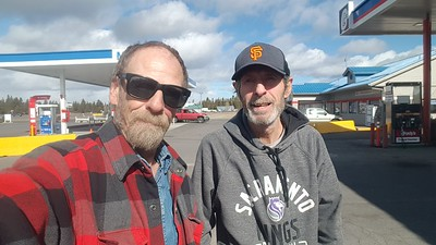 David S met BigRigSteve in LaPine, Oregon on US Highway 97 on February 23, 2020